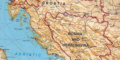 Slovenia Hartă Hărți Slovenia Europa De Sud Europa